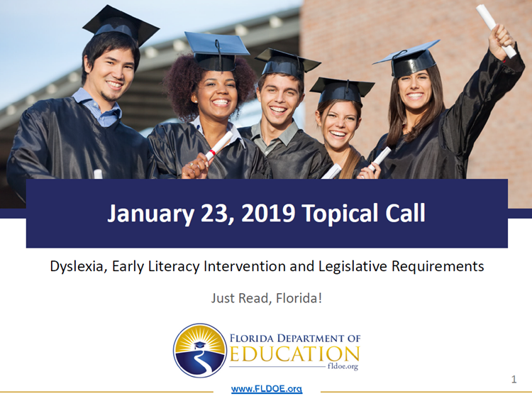 Dyslexia, Early Literacy Intervention, and Legislative Requirements