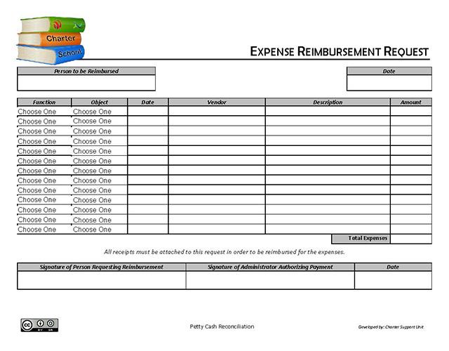 Expense Reimbursement Request