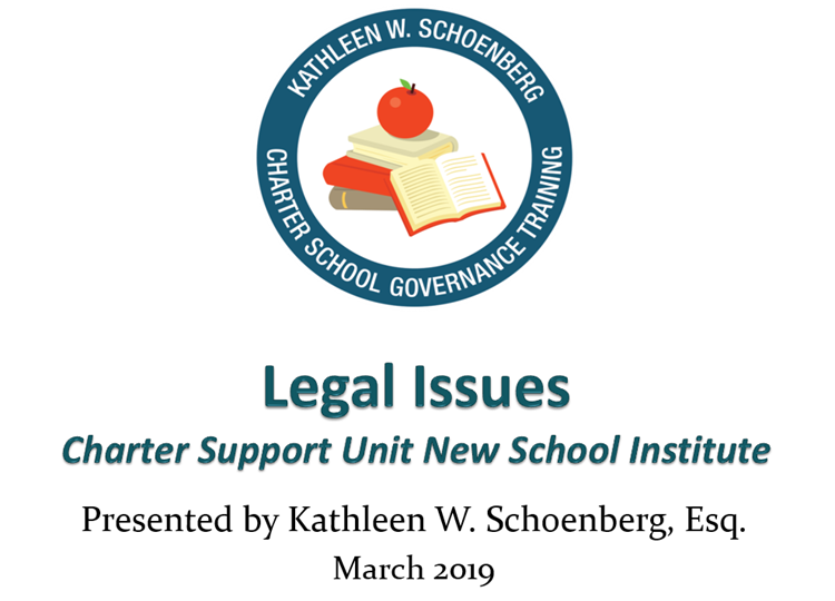 NSI: Legal Tips for New Charters