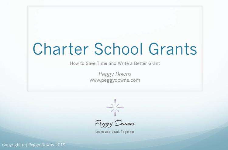 Charter School Grants: How to Save Time and Write a Better Grant