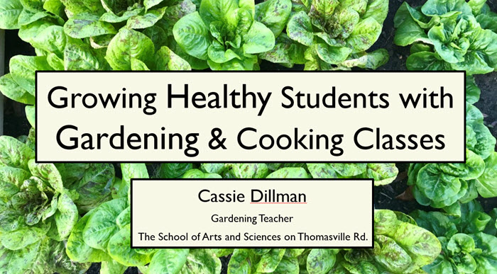Growing Healthy Students with Gardening and Cooking Classes