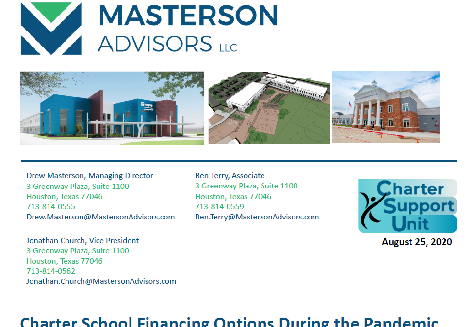 Charter School Financing Options During the Pandemic