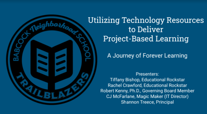 Utilizing Tech Resources to Deliver Project-based Learning